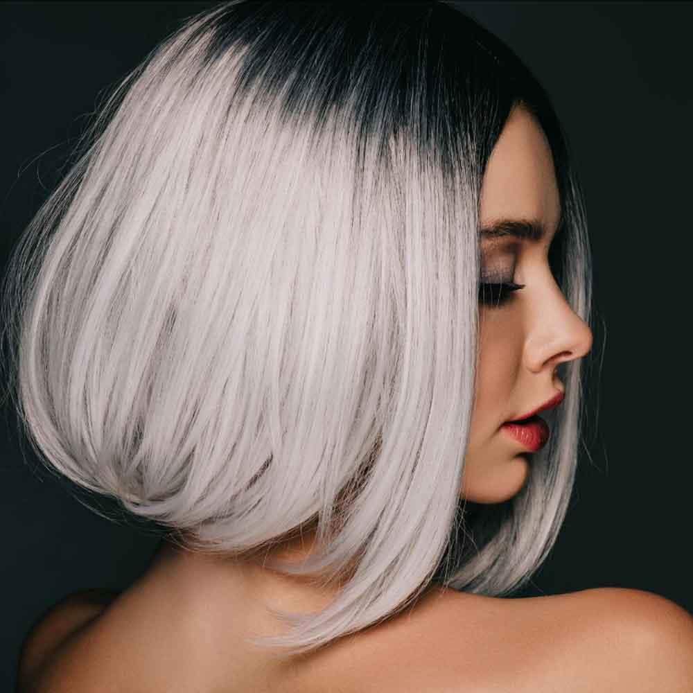 lemon hair styling